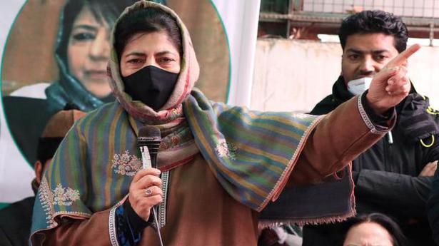 Involve J&K people in Indo-Pak. dialogue on Kashmir: Mehbooba