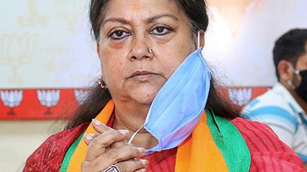 BJP expels Rajasthan ex-Minister