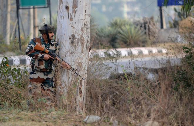 Three jawans killed as militants attack Army camp in Nagrota near Jammu