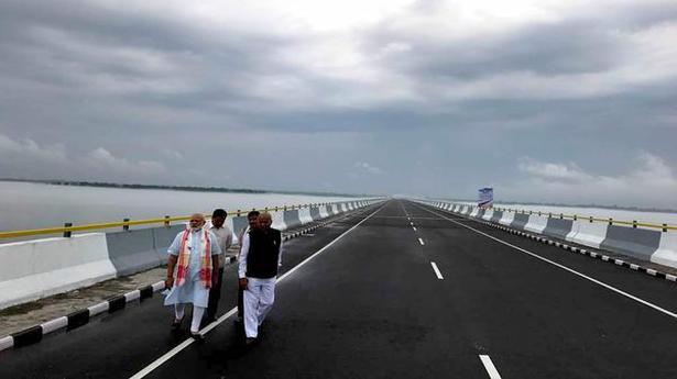 Modi names Dhola-Sadiya bridge after Bhupen Hazarika