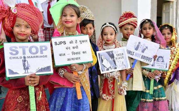 Highest incidence of child marriage in Rajasthan: report ...