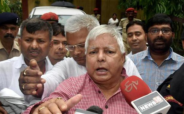 ED registers money laundering case against Lalu Prasad, kin