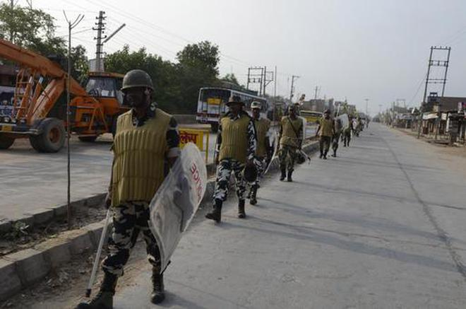 Image result for 5 arrested for attempting to create tension in Sriganganagar