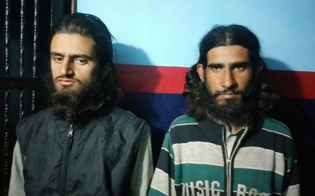 Two militants arrested in Kash
