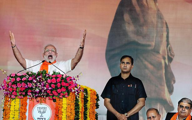 The coming Gujarat poll a fight between 'development and dynasty', says Modi