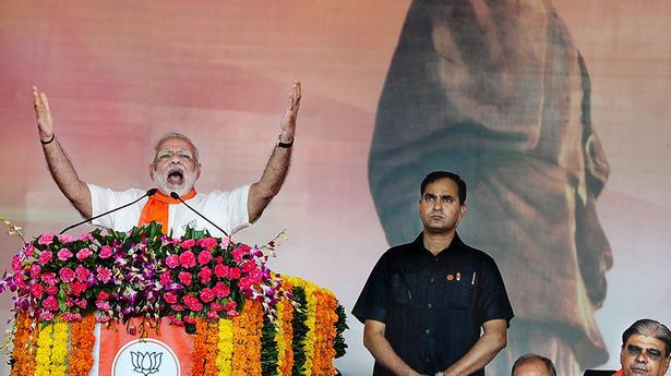 It's dynasty versus growth, says Modi