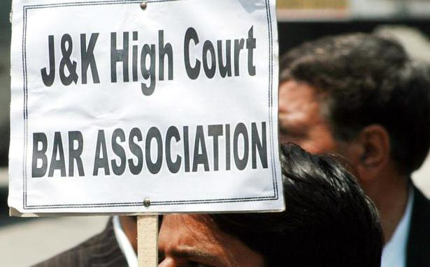 J&K Bar Association asked to clarify stand on ties with India - New On News