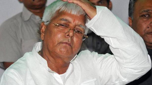 Lalu Prasad moved back to hospital