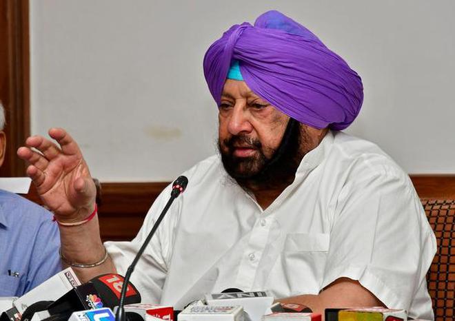 Punjab Chief Minister Amarinder Singh.