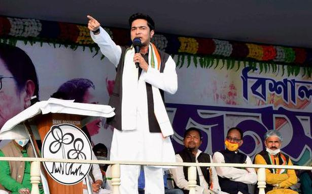 TMC claims BJP leaders insulted national anthem - The Hindu