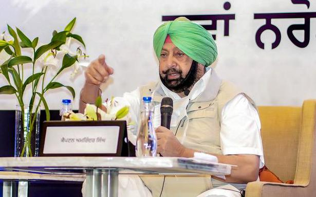 Punjab CM backs commission agents on DBT issue