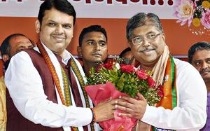 Many Congress-NCP MLAs will resign, join BJP soon: Chandrakant Patil