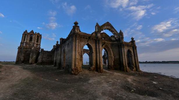 19th century church: Gothic fantasy