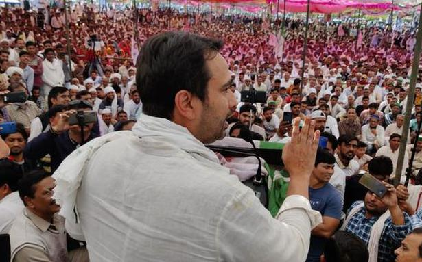 Jayant Chaudhary asks farmers to uproot BJP politically