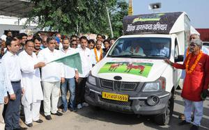 """""""Prachar Rath"""" to promote organic and natural farming in Rajasthan"""