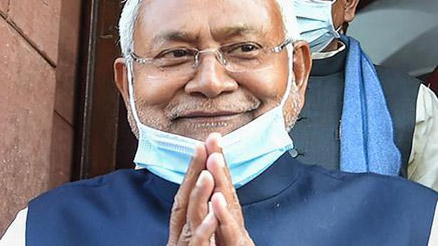 Bihar CM Nitish meets INLD chief O.P. Chautala