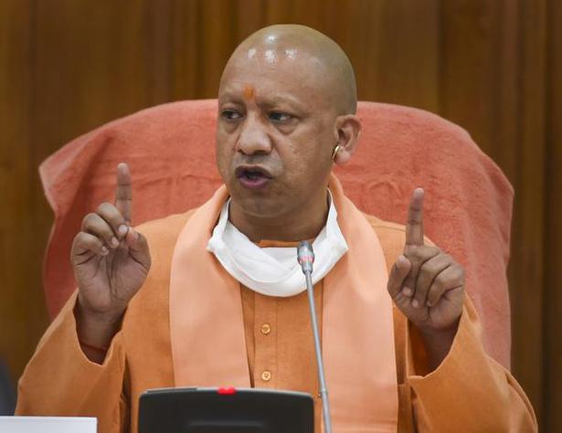 Oxygen shortage   Seize property of those spreading rumours: Yogi Adityanath  - The Hindu