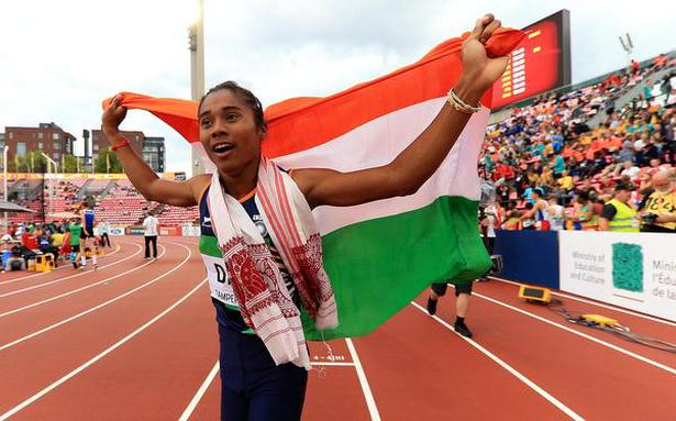 Sprinter Hima Das secures first division in Assam class XII exam