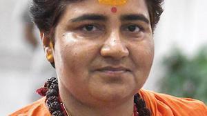 Oppn. 'marak shakti' to blame for Swaraj, Jaitley deaths: Pragya