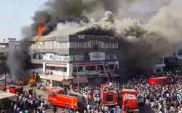 Fire tragedy in Surat: death toll increases to 23, owner of coaching centre arrested