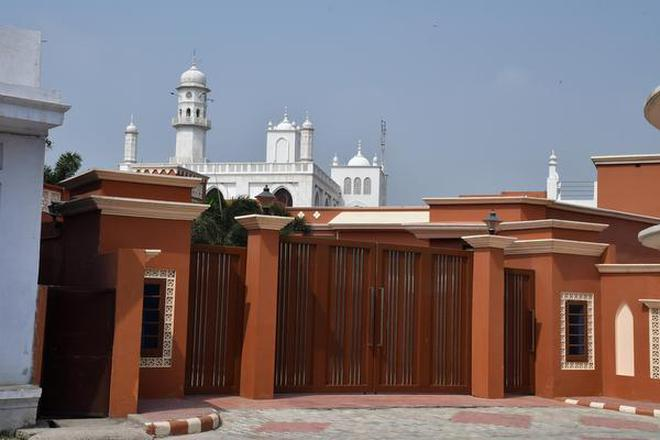 A 'Minara' (place of worship) of the Ahmadiyya community in Qadian, Amritsar. About 6,000 Ahmadiyyas live in the town in a settlement spread across 1,500 acres.