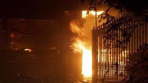 Fire breaks out in M.P. hotel, no casualty so far