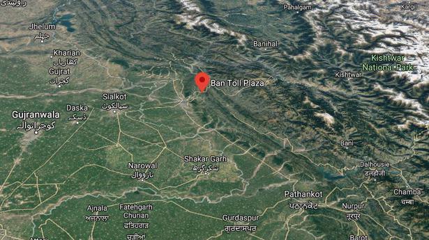 Four militants killed, policeman injured at Jammu's Nagrota toll plaza - The Hindu