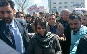 BJP turning Kashmir into a theatre of war: Mehbooba Mufti