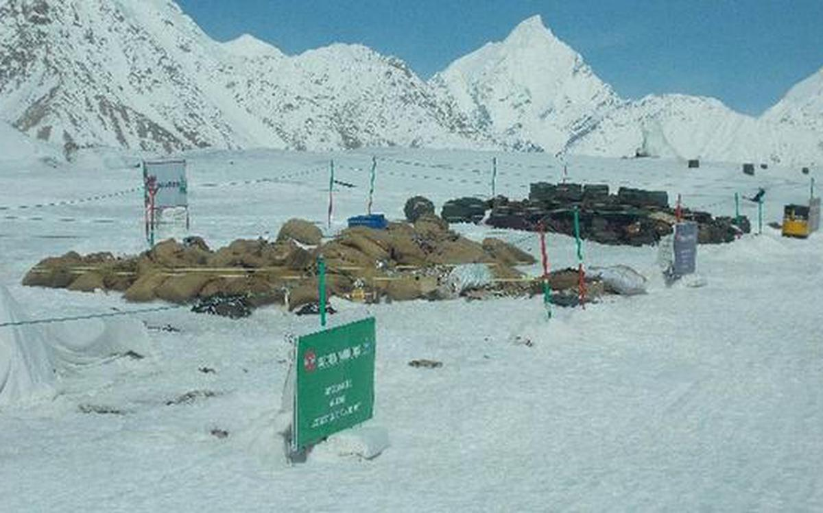 No more waste mounds on Siachen glacier - The Hindu