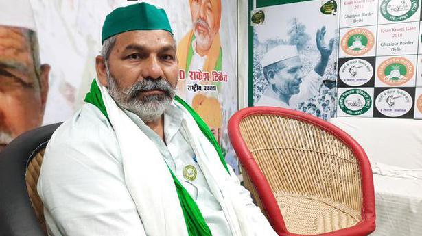 I have no political ambition: Rakesh Tikait