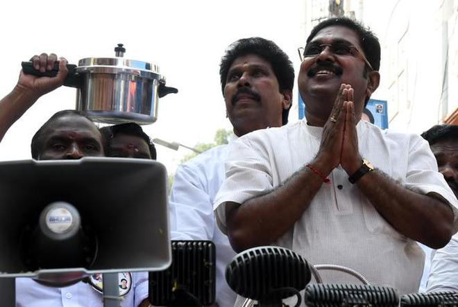 Will Pressure Cooker symbol be allotted to AMMK Party?