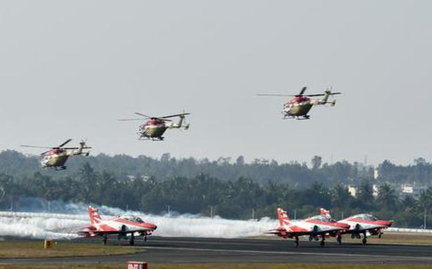 Indian aircraft take part in Sri Lanka event