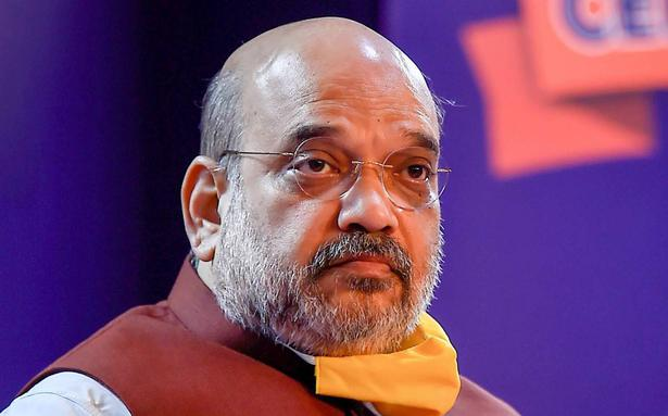 Amit Shah hopes GDP will be positive in next quarter