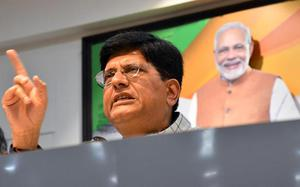 Scams were exploding all around Manmohan Singh, says Piyush Goyal
