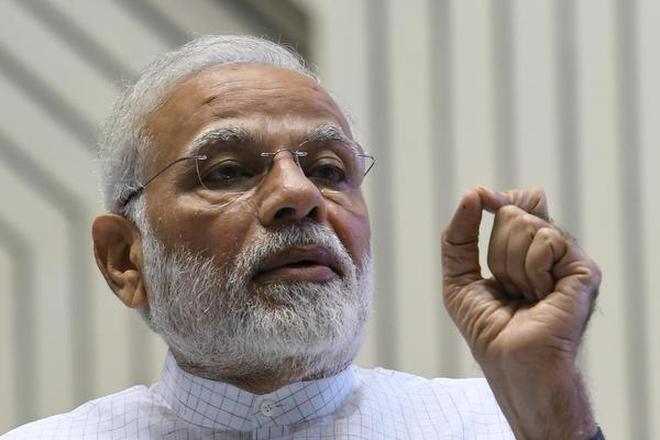 Prime Minister Narendra Modi was speaking on his radio show 'Mann ki Baat'. File photo.