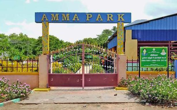 Residents not amused as Amma Park shuts them out