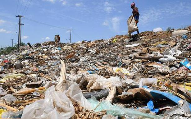 Start-up turns plastic waste into diesel substitute - The Hindu