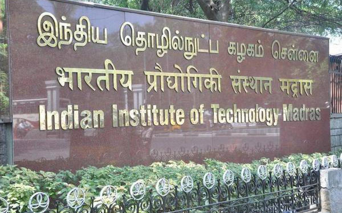 Iit M Launches Online B Sc Degree In Programming And Data Science The Hindu