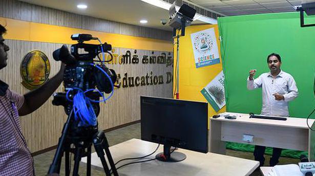 Schedule prepared to telecast lessons through Kalvi TV