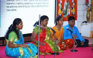 Refugees display diversity in Tamil culture