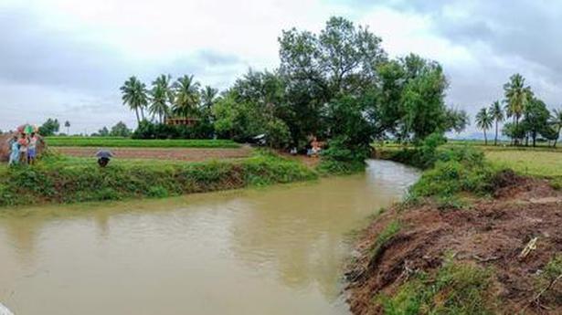 Water flows into lake in Tiruvannamalai village after 36 years - The Hindu