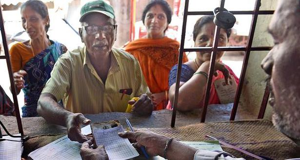 SMART SOLUTIONS: About 49 per cent of the ration cards in Tamil Nadu have been seeded with Aadhaar numbers, says Food Minister R. Kamaraj.