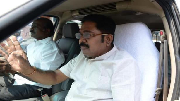 T.T.V. Dinakaran leaves for Delhi questioning over alleged bribe attempt