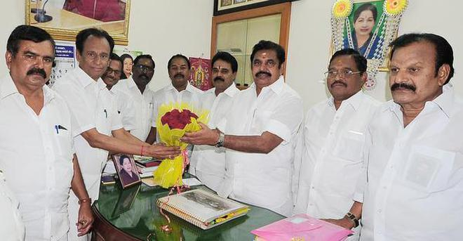 Image result for 'Hold talks with MLAs from Dhinakaran camp', Senior AIADMK