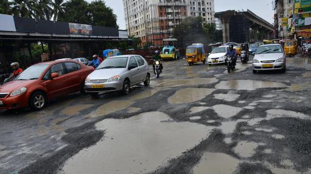 Battered bypass road: Poonamallee residents slap police case against NHAI