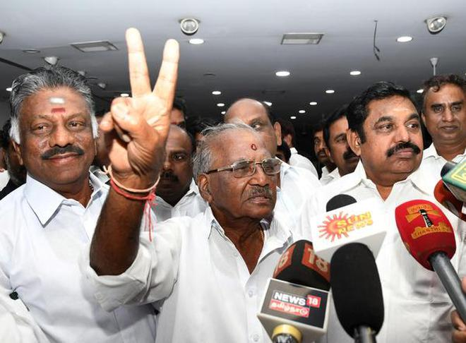Image result for Close call in three-horse race, The R. K. Nagar byelection scheduled for December 2
