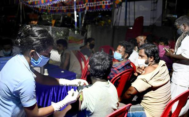 Special vaccination camps at Koyambedu market