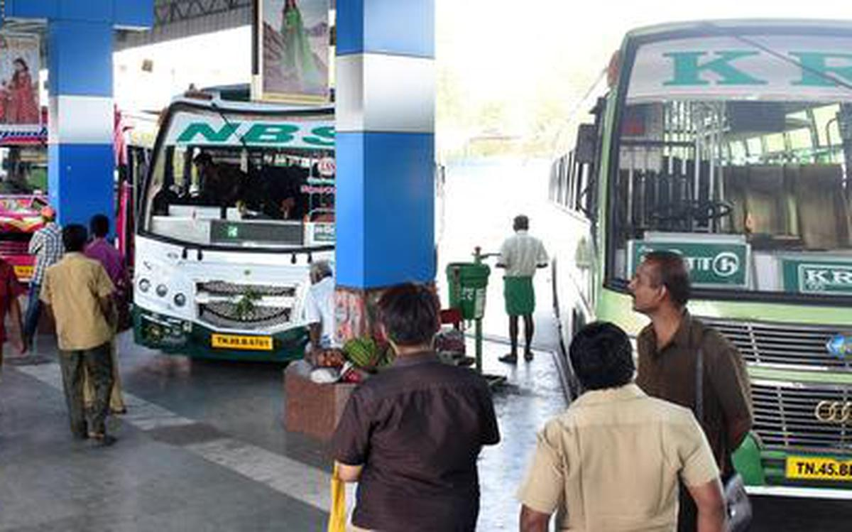 Private Buses In Tamil Nadu To Ply From Wednesday The Hindu