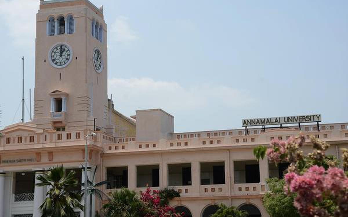 Annamalai University Not Entitled Competent To Fix Fee Structure Sc The Hindu