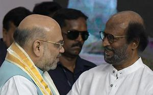 Article 370: Rajinikanth seen as toeing BJP line by hailing Narendra Modi and Amit Shah